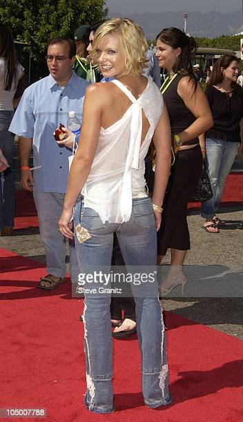 Jaime Pressly during The 2002 Teen Choice Awards Arrivals at The Universal Amphitheatre in Universal City California United States