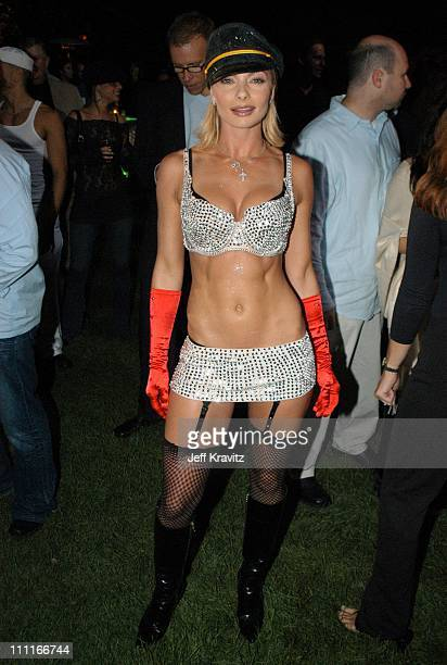 Jaime Pressly during The Official Launch Party For Spike TV At The Playboy Mansion Inside at The Playboy Mansion in Bel Air California United States