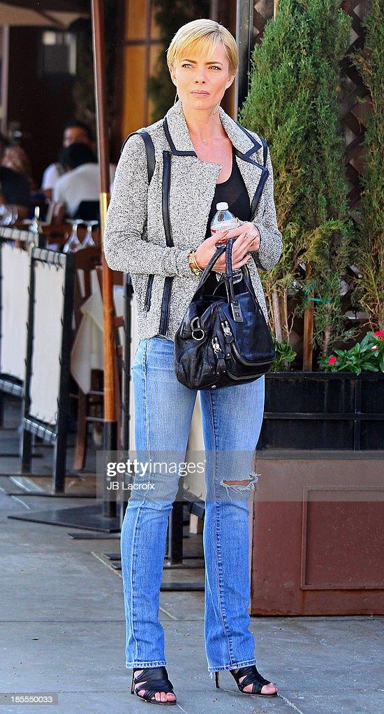 Jaime Pressly is seen on October 21, 2013 in Los Angeles, California.