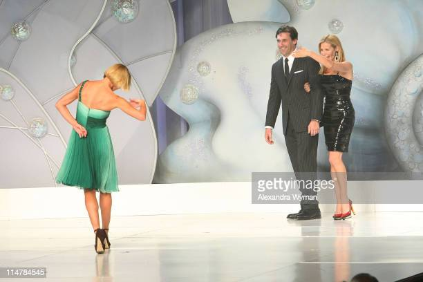 Jaime Pressly Jon Hamm and Jennifer Westfeldt walk the runway at St Jude's 5th Annual Runway for Life Benefit Presented by Disney's 'Tinker Bell' at...