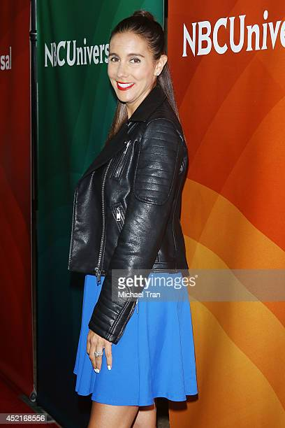 Jaime Primak Sullivan arrives at the 2014 Television Critics Association Summer Press Tour - NBCUniversal - Day 2 held at The Beverly Hilton Hotel on...
