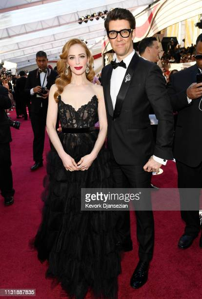 Jaime Ray Newman and Guy Nattiv attend the 91st Annual Academy Awards at Hollywood and Highland on February 24 2019 in Hollywood California