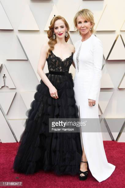 Jaime Ray Newman and Trudie Styler attend the 91st Annual Academy Awards at Hollywood and Highland on February 24 2019 in Hollywood California
