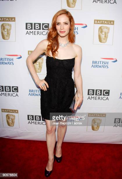 Jaime Ray Newman arrives at the BAFTA LA's 2009 Primetime Emmy Awards TV Tea Party at InterContinental Hotel on September 19 2009 in Century City...