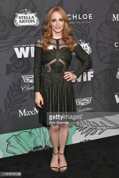 Jaime Ray Newman attends the 12th Annual Women In Film Oscar Party at Spring Place on February 22 2019 in Beverly Hills California