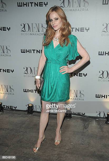 Jaime Ray Newman attends the 2009 Whitney Contemporaries Art Party And Auction at Skylight on June 17 2009 in New York City