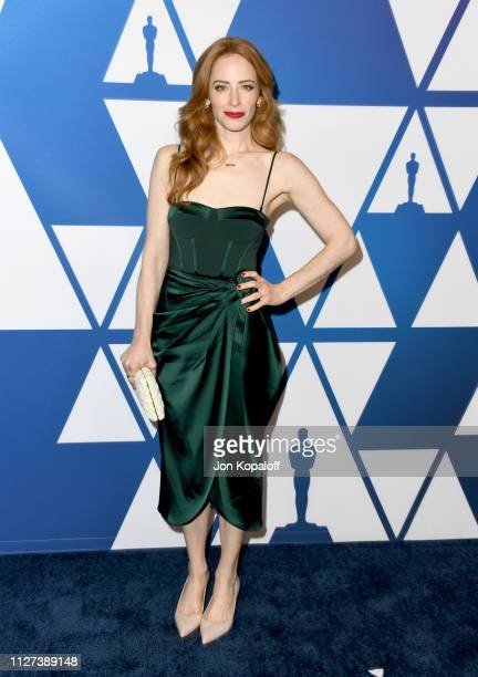Jaime Ray Newman attends the 91st Oscars Nominees Luncheon at The Beverly Hilton Hotel on February 04 2019 in Beverly Hills California