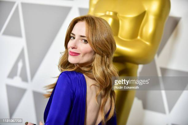Jaime Ray Newman attends the 91st Oscars Oscar Week Shorts at the Academy of Motion Picture Arts and Sciences on February 20 2019 in Beverly Hills...