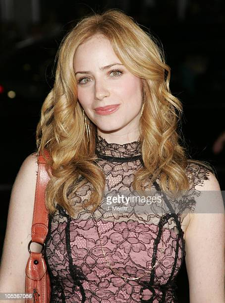Jaime Ray Newman during Friday Night Lights World Premiere at Grauman's Chinese Theatre in Hollywood California United States