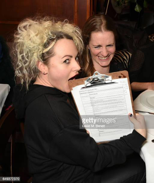 Jaime Winstone and Chloe Delevingne attend the Lady Garden VIP pub quiz in support of the Gynaecological Cancer Fund at Albert's Club on March 7 2017...