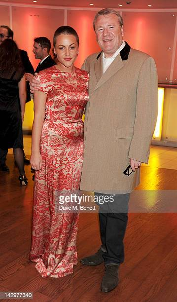 Jaime Winstone and Ray Winstone arrive at the World Premiere of 'Elfie Hopkins' at the Vue West End on April 16 2012 in London England