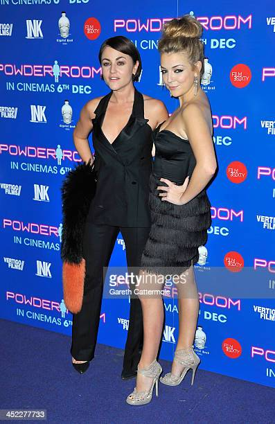 Jaime Winstone and Sheridan Smith attend the UK Premiere of Powder Room at Cineworld Haymarket on November 27 2013 in London England