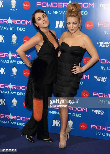 Jaime Winstone and Sheridan Smith attend the UK Premiere of 'Powder Room' at Cineworld Haymarket on November 27 2013 in London England