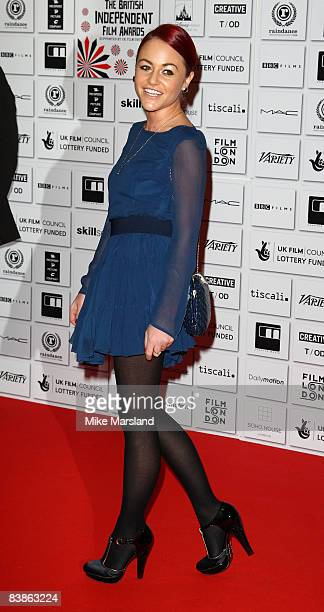 Jaime Winstone attends the British Independent Film Awards at the Old Billingsgate Market on November 30 2008 in London England