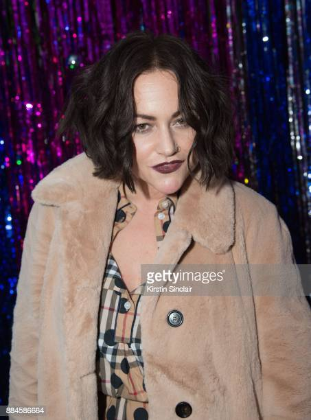 Jaime Winstone attends the Burberry x Cara Delevingne Christmas Party on December 2 2017 in London England