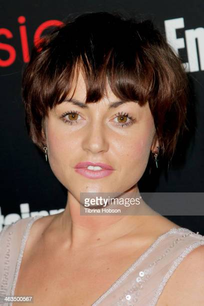 Jaime Winstone attends the Entertainment Weekly SAG Awards preparty at Chateau Marmont on January 17 2014 in Los Angeles California