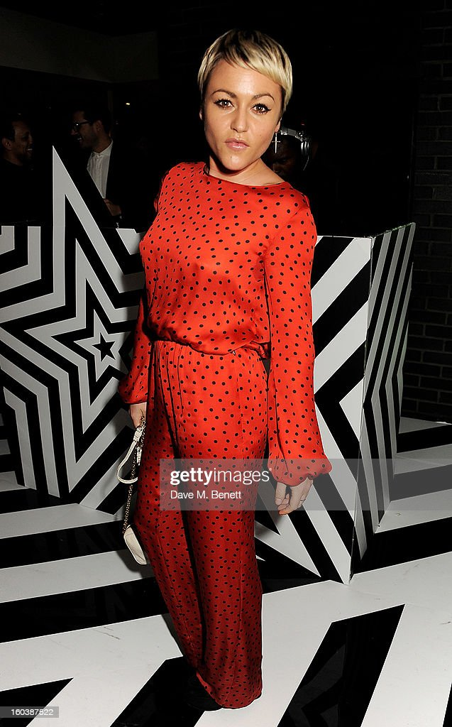 Jaime Winstone attends the InStyle Best Of British Talent party in association with Lancome and Avenue 32 at Shoreditch House on January 30, 2013 in London, England.