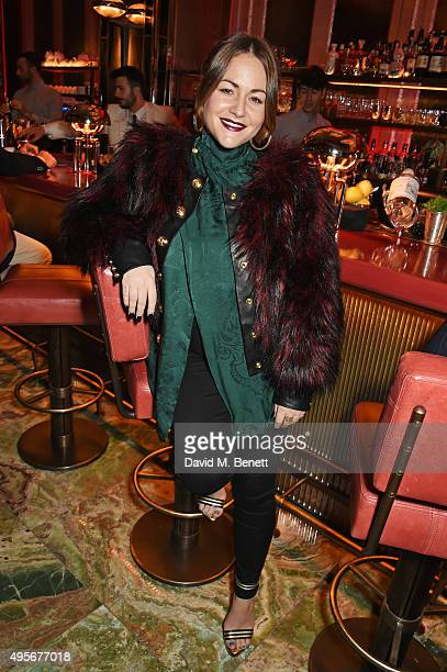 Jaime Winstone attends the launch of the new Matchless Star Wars collection at Sexy Fish on November 4 2015 in London England