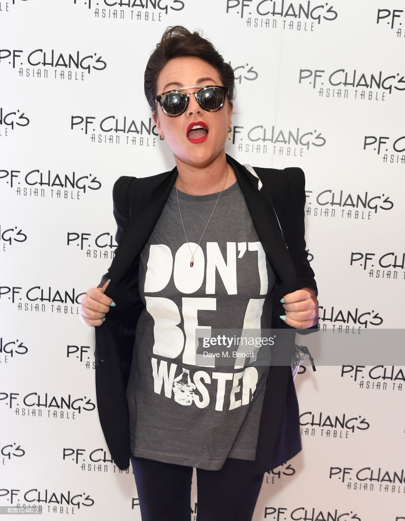 Jaime Winstone attends the launch party for P.F.Chang's Asian Table restaurant, which opens to the public on Friday 4th August on Great Newport Street, Covent Garden. on August 3, 2017 in London, England.