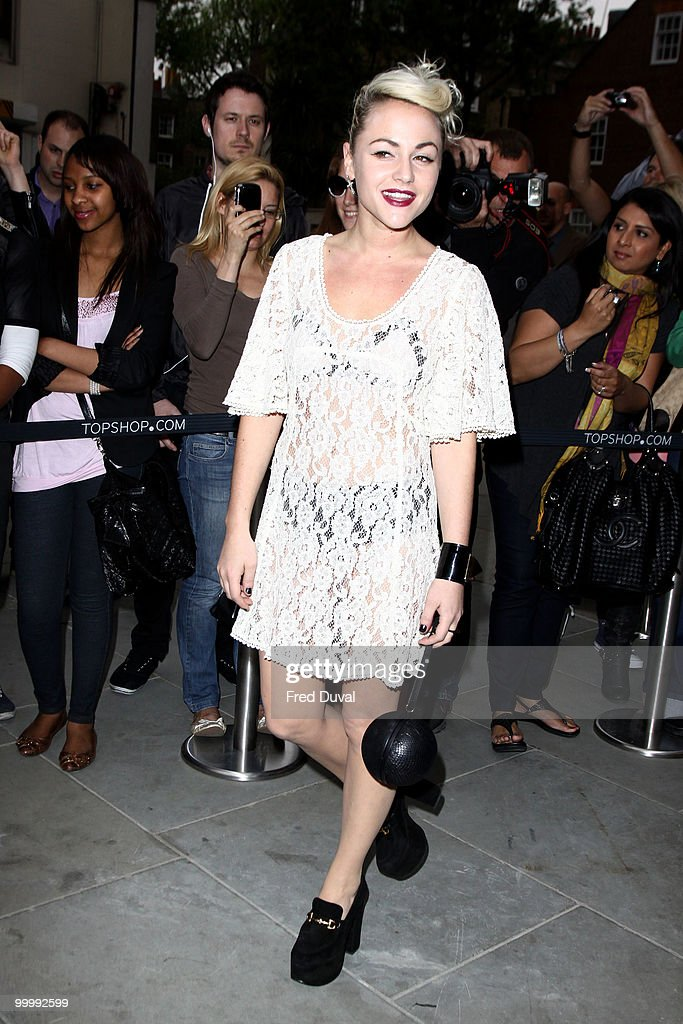 Jaime Winstone attends the launch party for the opening of TopShop's Knightsbridge store on May 19, 2010 in London, England.