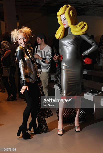 Jaime Winstone attends the Pam Hogg Spring Summer 2011 fashion show at On/Off during London Fashion Week on September 19, 2010 in London, England.
