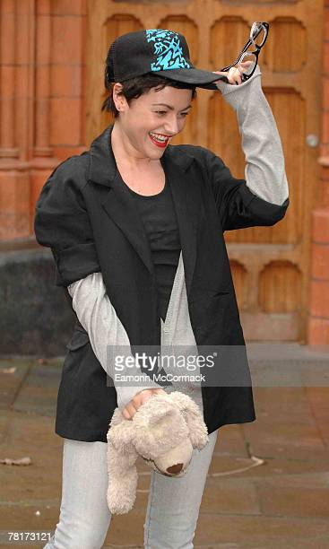 Jaime Winstone attends the 'Portobello Pantomime' Photocall at The Tabernacle Notting Hill on November 30 2007 in London England
