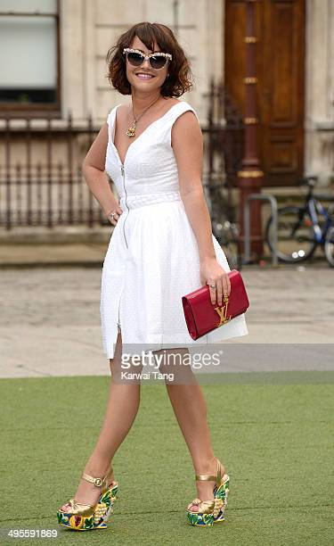 Jaime Winstone attends the Royal Academy Summer Exhibition Preview Party at the Royal Academy of Arts on June 4 2014 in London England