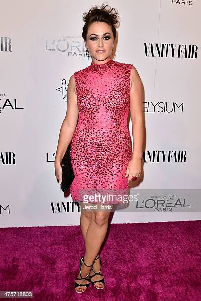 Jaime Winstone attends the Vanity Fair Campaign Hollywood Kick Off at Sadie Kitchen and Lounge on February 28 2014 in Los Angeles California
