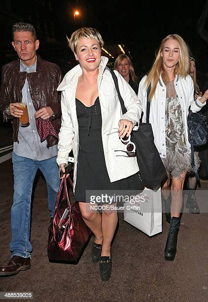 Jaime Winstone is seen attending Rihanna`s River Island afterparty on February 17 2013 in London United Kingdom