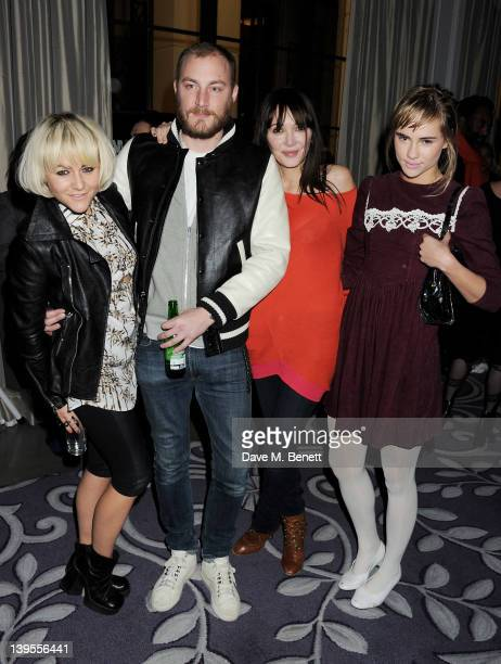 Jaime Winstone James Small Annabelle Neilson and Suki Waterhouse attend a party hosted by Vauxhall Motors to celebrate their collaboration with...
