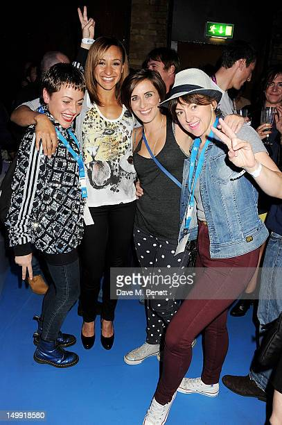 Jaime Winstone Olympic Gold Medalist Jessica Ennis Vicky McClure and Jo Hartley attend as The Stone Roses perform a secret gig at adidas Underground...
