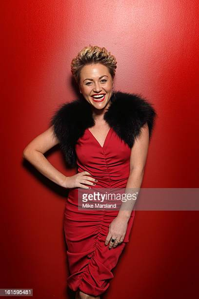 Jaime Winstone poses in the portrait studio at the PreBafta party hosted by EE and Esquire ahead of the 2013 EE British Academy Film Awards at The...