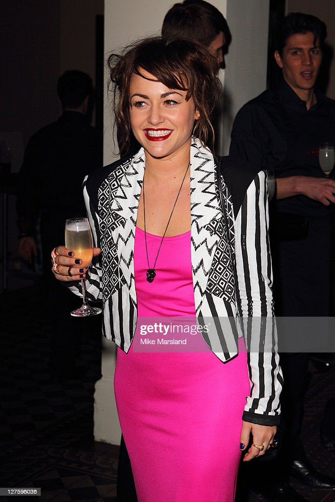Jaime Winstone seen in the front row at the Julien Macdonald show at London Fashion Week Autumn/Winter 2011 on February 21, 2011 in London, England.