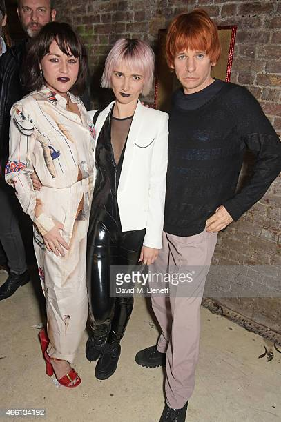 Jaime Winstone Sharna Liguz and Zak Starkey attend the Eat Your Art Out Weekender hosted by Jaime Winstone to celebrate the launch of Brazillian...