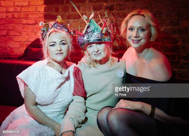 Jaime Winstone Vivienne Westwood & Gwendoline Christie attend Dame Vivienne Westwood and James Jagger's Mad Max party in aid of Climate Change during...