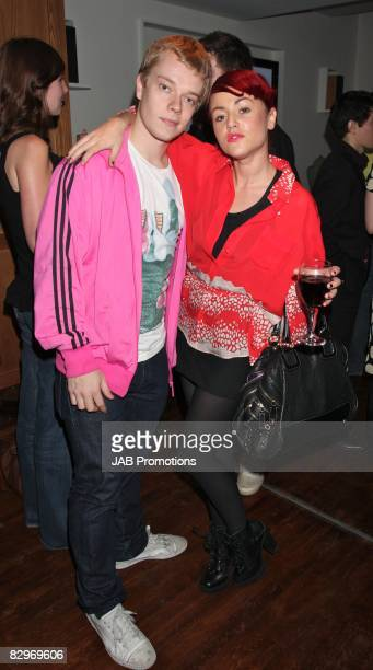 Jaime Winstonee and Alfie Allen attends the launch party of the Nokia 'Capsule N96' at Century Club on September 22 2008 in London England