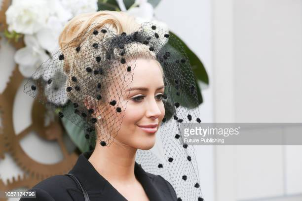 Jaimee Belle Kennedy at Derby Day at the 2018 Melbourne Cup Carnival