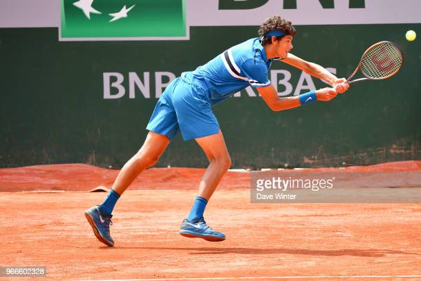Jaimee Floyd Angele of France during Day 8 of the French Open 2018 on June 3 2018 in Paris France
