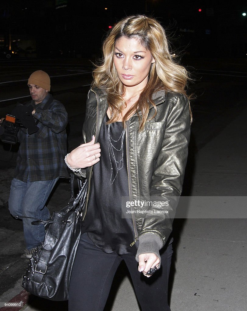 Jaimee Grubbs alleged Tiger Woods mistress sigthing in West Hollywood on December 5, 2009 in Los Angeles, California.