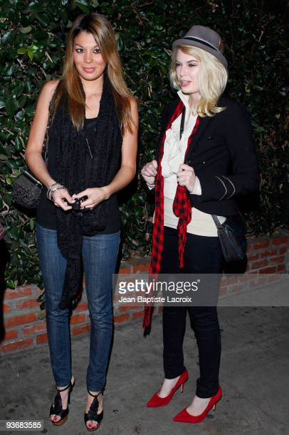 Jaimee Grubbs sighting in West Hollywood on December 2 2009 in Los Angeles California