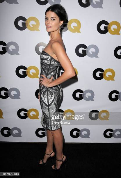 Jaimie Alexander arrives at the GQ Men Of The Year Party at The Wilshire Ebell Theatre on November 12 2013 in Los Angeles California