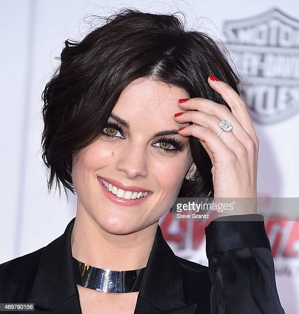 Jaimie Alexander arrives at the Marvel's Avengers Age Of Ultron Los Angeles Premiere at Dolby Theatre on April 13 2015 in Hollywood California