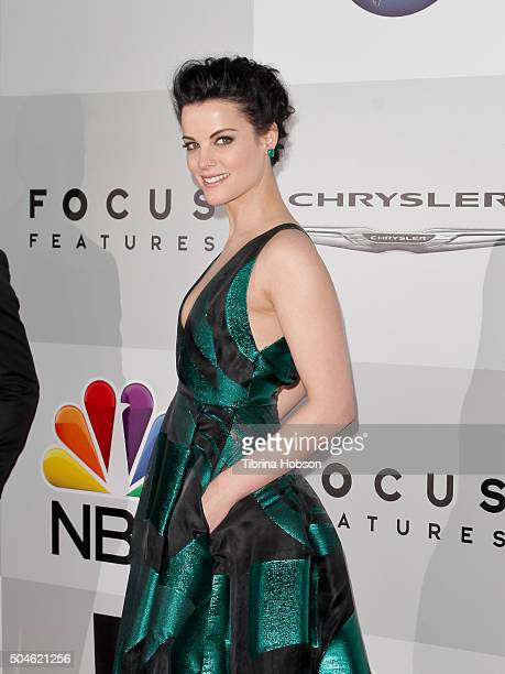 Jaimie Alexander attends NBCUniversal's 73rd Annual Golden Globes After Party at The Beverly Hilton Hotel on January 10 2016 in Beverly Hills...