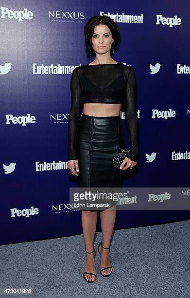 Jaimie Alexander attends New York UpFronts party hosted by People and Entertainment Weekly at The Highline Hotel on May 11 2015 in New York City