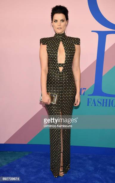 Jaimie Alexander attends the 2017 CFDA Fashion Awards at Hammerstein Ballroom on June 5 2017 in New York City