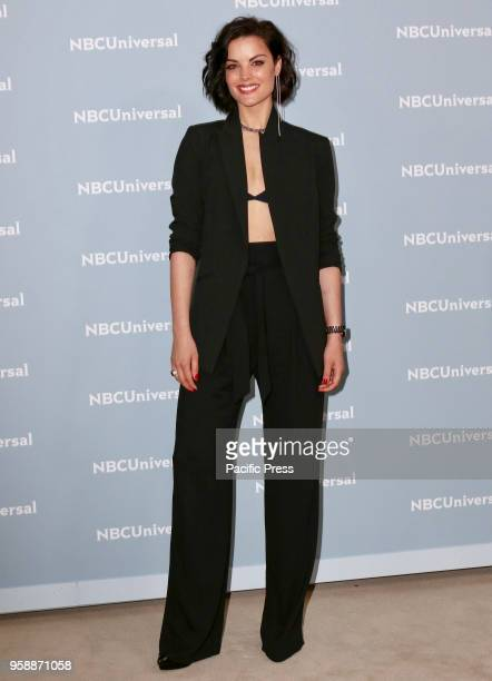Jaimie Alexander attends the 2018 NBCUniversal Upfront presentation at Rockefeller Center
