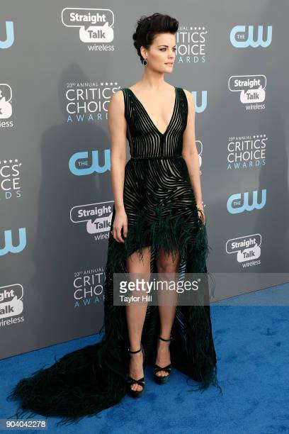 Jaimie Alexander attends the 23rd Annual Critics' Choice Awards at Barker Hangar on January 11 2018 in Santa Monica California
