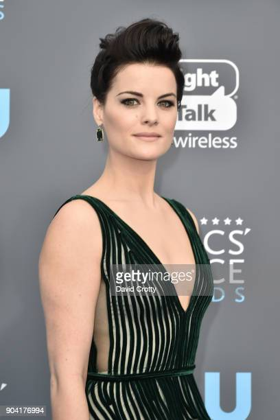 Jaimie Alexander attends The 23rd Annual Critics' Choice Awards Arrivals at The Barker Hanger on January 11 2018 in Santa Monica California