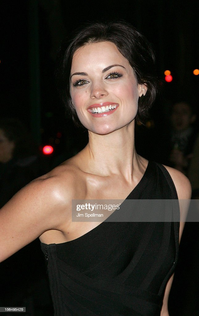 Jaimie Alexander attends The Cinema Society with The Hollywood Reporter & Samsung Galaxy screening of 'The Twilight Saga: Breaking Dawn Part 2' on November 15, 2012 at the Landmark Sunshine Cinema in New York City.