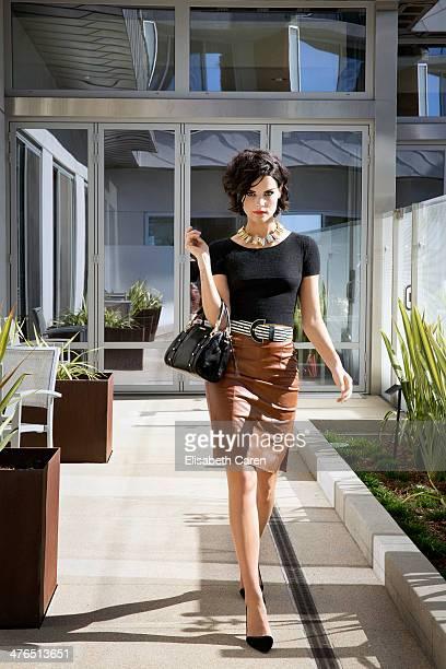 Jaimie Alexander for Viva on October 16 2013 in Santa Monica California PUBLISHED IMAGE